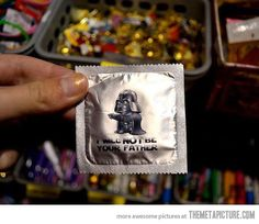 I will not be your father…