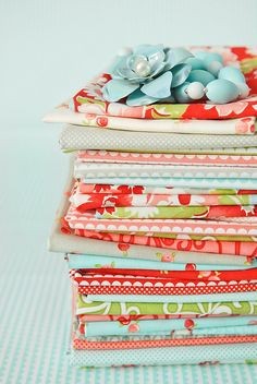 Ruby by Bonnie and Camille for Moda Fabrics by croskelley, via Flickr