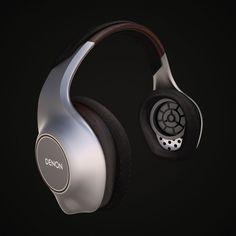 Martin Ortiz - Headphone design for DENON in collaboration with Bareskull Innovation