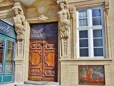Porte de l' Hôtel d' Agut - Aix en Provence | Flickr - Photo Sharing!