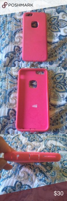 pink iPhone 6+ protective case pink Other