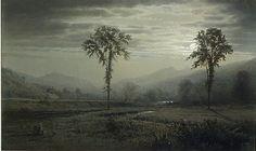 Moonlight on Mount Lafayette, New Hampshire  William Trost Richards  (American, Philadelphia, Pennsylvania 1833–1905 Newport, Rhode Island)
