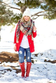 Plaid Blanket Scarf (via Bloglovin.com )