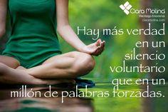 SHHH... (((Sesiones y Cursos Online www.ciaramolina.com #psicologia #emociones #salud)))