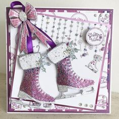 Stamps by Chloe - Candy Border - - Chloes Creative Cards Chloes Creative Cards, Creative Christmas Cards, Christmas Card Crafts, Christmas Nail Designs, Xmas Cards, Holiday Cards, Christmas 2019, Crafters Companion Christmas Cards, Stamps By Chloe