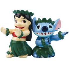 PRE-ORDER: Lilo and Stitch salt and pepper shaker set from Fantasies Come True
