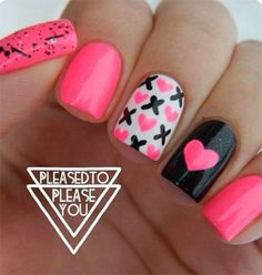 50-Valentines-Day-Nail-Art-Designs-Ideas-Trends-2016-12.jpg (500×527)