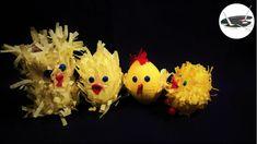 Jak zrobić kurczaki z krepiny - Pomysły plastyczne dla każdego