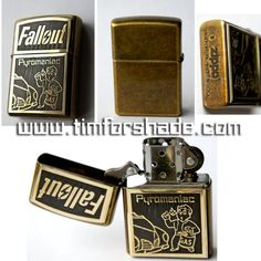 Fallout lighter Piromaniac Zippo original by TimforShade on DeviantArt