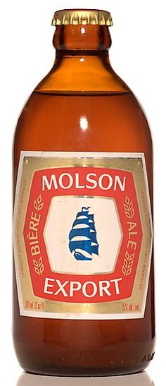 The stubby and Molson Export.Only beer brands I ever saw guys drink in high school were Blue, Canadian and Ex Most Popular Alcoholic Drinks, Canadian Beer, Poster Retro, Booze Drink, Beers Of The World, Beer Brands, Beer Packaging, Beer Label, Best Beer