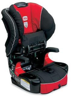 The Britax Frontier 90 features the ClickTight Installation System, which is an innovative technology that allows parents to easily achieve a safe and secure installation using a vehicle seat belt throughout the life of the seat, in harness mode, without having to worry about the weight of their child.