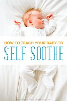 What do you do when your baby doesn't fall asleep on his own? Learn how to teach children to self soothe to sleep and for naps without crying. Perfect self soothing tips for kids. How to Teach Your Baby to Self Soothe Rebecca Reck Baby Supplies, After Baby, Baby Development, Little Doll, Everything Baby, Baby Needs, First Baby, Our Baby, Baby Boys
