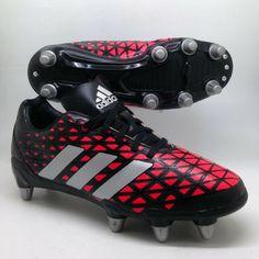 e394b687ffa adidas mens Predator Kakari Football Boots Black sz 6 Rugby Cleats 39 1 3  US 6.5