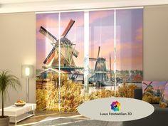 Schiebegardinen, Schiebevorhang, Fotogardinen 3D Foto Vorhänge Fensterdekoration günstig online kaufen. Versand Kostenlos & Schnell.