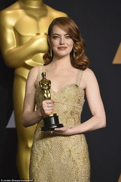 Photo about Emma Stone at the Annual Academy Awards - Press Room held at the Hollywood and Highland Center in Hollywood, USA on February Image of actor, cinema, celebration - 87495982 Hollywood Usa, Hollywood Actresses, Classic Hollywood, Emma Stone Oscars, Actress Emma Stone, Sasha Pivovarova, Vanessa Paradis, Oscar Winners, Lily Collins