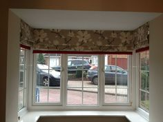 Roman Blinds For A Bay Window
