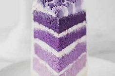 "50 Ombre Wedding Cakes That Are Sexier Than ""50 Shades Of Grey"""