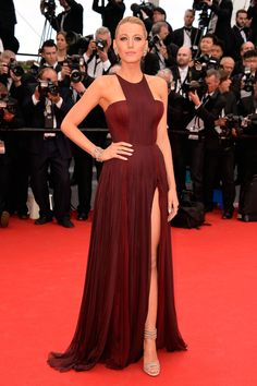 Cannes Fashion - Red Carpet Dresses at Cannes 2014 - Harper's BAZAAR Blake Lively in Gucci Première