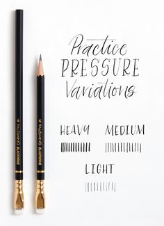 Pencil Calligraphy @