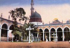 old pic of Masjid-e-Nawwabi