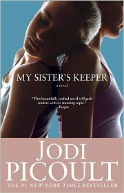 My Sister's Keeper, by Jodi Picoult  Cried through half this book, but loved the story. but the movie sucked
