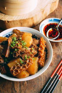 Dim Sum Tripe Stew Recipe, by thewoksoflife.com