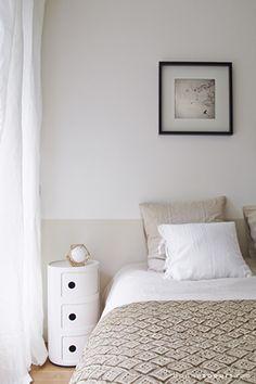 Peinture les couleurs chambre adulte id ales pour les murs chic farrow ball et chambres for Caravane chambre 19 linge maison