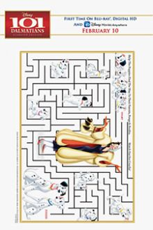 Maze | Free Disney's 101 Dalmatians Printables, Downloads, Activities and More! | SKGaleana