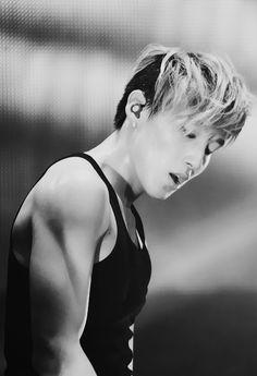Jongup [B.A.P.] those arms tho o.o