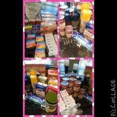 Postop food haul