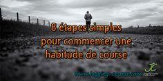 8 étapes simples pour commencer une habitude de course