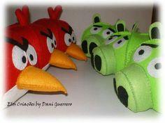 Angry birds os infezadinhos mais fofinhos da Telinha, feito por Elos Criação. Interessados elos.criacoes@gmail.com