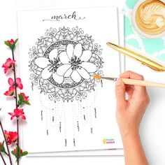 Free Bullet Journal Printables Kit • Hello February 2017 - Wundertastisch Design