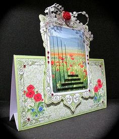 Card Gallery - Poppies Over the Edge Mini Kit
