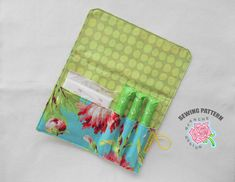 This is a sewing pattern for making a pad & tampon holder, not the finished product and please note that this is a non-refundable item. Pad &