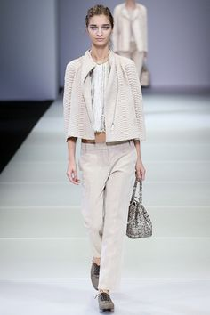 Giorgio Armani Spring 2015 Ready-to-Wear - Collection - Gallery - Look 5 - Style.com