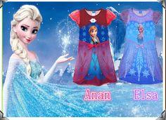 princesa elsa anna