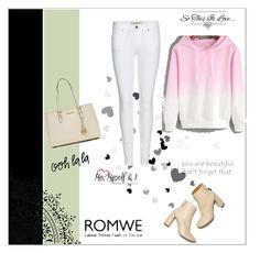 """""""romwe"""" by zojla ❤ liked on Polyvore featuring MICHAEL Michael Kors, Burberry and STELLA McCARTNEY"""