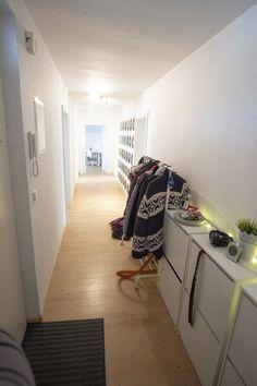 Kids Rugs, Home Decor, Long Hallway, Indirect Lighting, Hallways, Vinyl Records, Homemade Home Decor, Kid Friendly Rugs, Interior Design