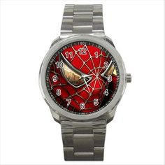 NEW* HOT SPIDERMAN Quality Sport Metal Wrist Watch Gift THU05 #Unbranded