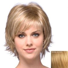 SHARE & Get it FREE | Stylish Human Hair Elegant Charming Side Bang Fluffy Short Wavy Capless Wig For WomenFor Fashion Lovers only:80,000+ Items·FREE SHIPPING Join Dresslily: Get YOUR $50 NOW!
