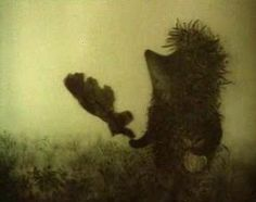 Le Hérisson dans le Brouillard, Russie, 1975, Youri Norstein.  Ludo38: Une merveille de l'animation russe