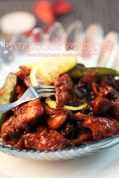 ♥ LOVE2COOK MALAYSIA♥: Spicy Sweet & Sour Chicken...♥