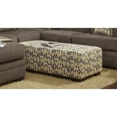 Chelsea Home Furniture Northborough Ottoman - Willy Caper - 474165-O-WC