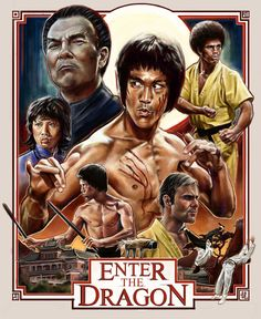 Art Poster - Enter The Dragon - Hollywood Collection - Buy A3 Poster | Starting from Rs. 199