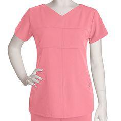 Signature Series by Grey's Anatomy Women's Soft V-Neck Top #nursestyle #hospitalstyle #greysanatomy #scrubs