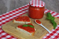 Domáci ajvar - Powered by Russian Recipes, Dips, Veggies, Kitchen, Food, Spreads, Polish, Tv, Red Peppers
