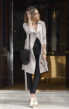 "Adding Dimension to a Classic | ""Styling A Staple: The Classic Trench"" 