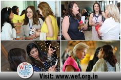 When women come together in love and connection the world, in how we view it and how we change it begins a forward motion of hope and miracles that could not have existed before. Visit our website for more information at: http://www.wef.org.in