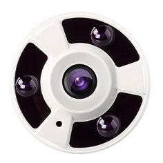 [USD60.19] [EUR56.48] [GBP43.61] szsinocam SN-IPC-5013 P2P 1/3 inch 960P 1.3 Megapixels Fisheye Lens 360 Degrees Panorama IP Camera, IR Distance: 20-30m